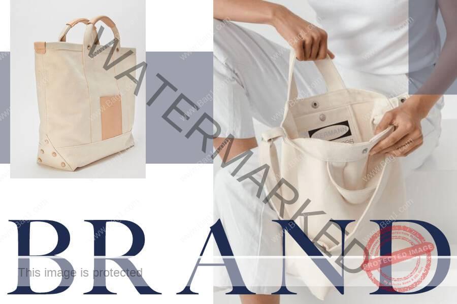 กระเป๋าผ้าสำหรับ สร้างแบรนด์แบบที่2