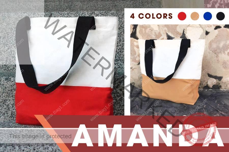 กระเป๋าผ้า Amanda แจกงานอีเว้นท์