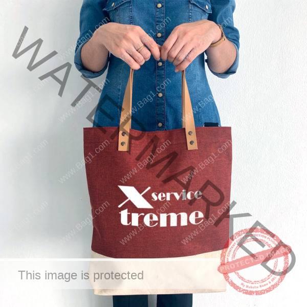 งานกสรีนกระเป๋าผ้าดิบญี่ปุ่น